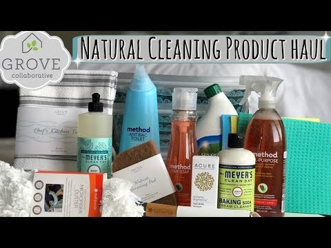 GROVE COLLABORATIVE HAUL :: NATURAL & NON TOXIC PRODUCTS :: UNBOXING