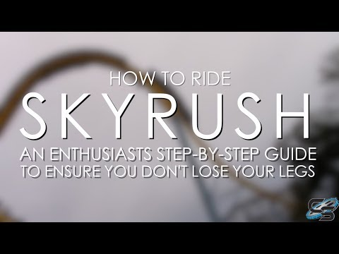 How to Ride Skyrush at Hersheypark