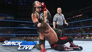 AJ Styles vs. Baron Corbin: SmackDown LIVE, April 25, 2017