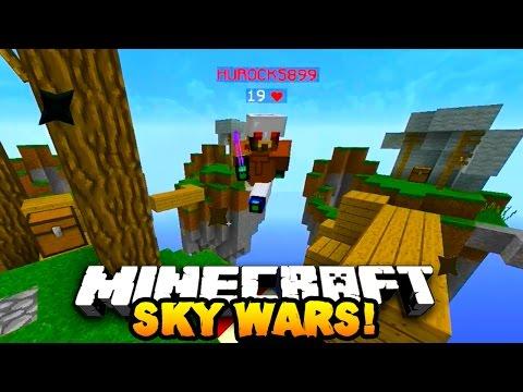 Minecraft SOLO SKY WARS