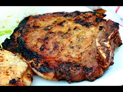 Vietnamese Barbecue Grilled Pork Chop Recipe