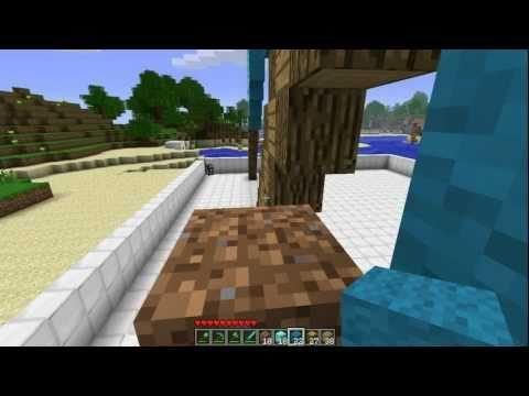Minecraft: How To Make A Diamond Axe Statue