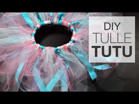 DIY Little Girl's Tutu Tutorial