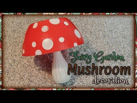 Fairy Garden Mushroom Decoration