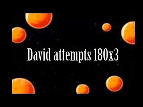 David attempts 180kg squat for 3 reps...