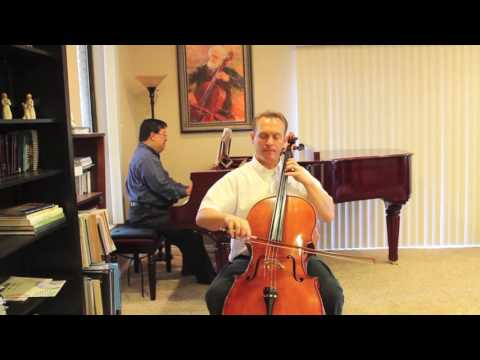 Minuet No 3 by Bach from Suzuki Book 2 - Cello Instruction with Kayson Brown
