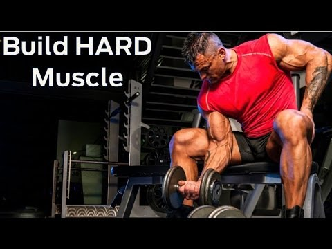 How to Build HARD Muscle (Advanced Strength Workout Routine)