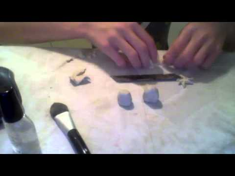 How To Make A Ag Doll Strawberry Out Of Air Drying Clay And Chalk