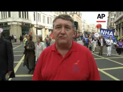 Thousands take part in anti-austerity protest
