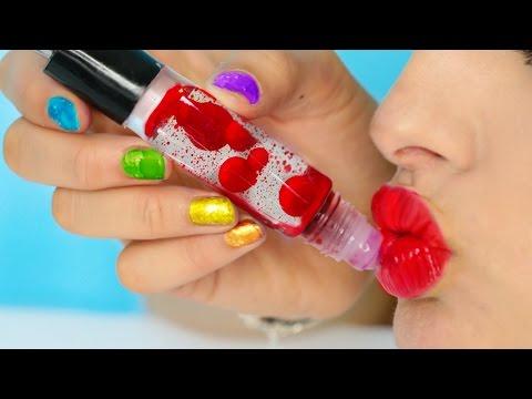 DIY Lava Lamp Lip Gloss!