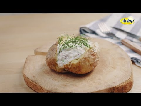 Jacket Potato with cottage cheese | Aviko Enjoy!