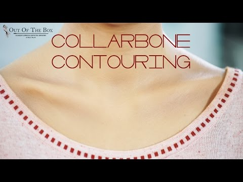 How To Contour The Collar Bone! | Contouring & Highlighting For Beginners