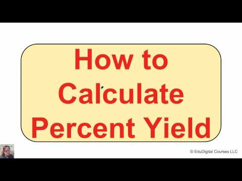 How to Calculate Percent Yield of a Chemical Reaction