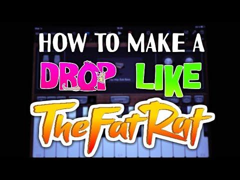 How to make a DROP like TheFatRat in Garageband (iPad & iPhone)