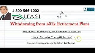 Withdrawing From 401k Withdrawing From 401k Plans