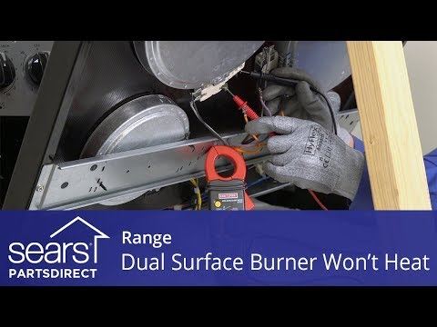 Range Dual-Ring Radiant Surface Element Not Working