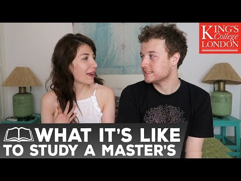 MASTER'S DEGREE AT KING'S COLLEGE LONDON! Cancer Research | Atousa