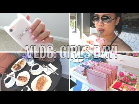 VLOG: Girls' Day, Starbucks Pink Drink, and Cooking!   OnlyYumul
