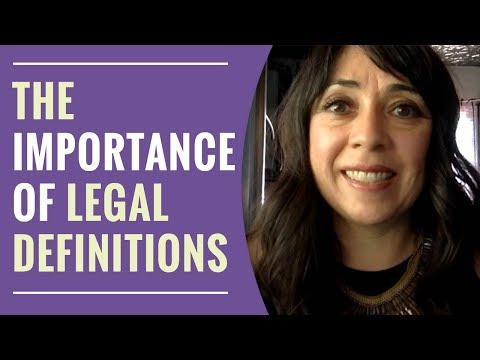 The Importance of Legal Definitions in Your Custody Case