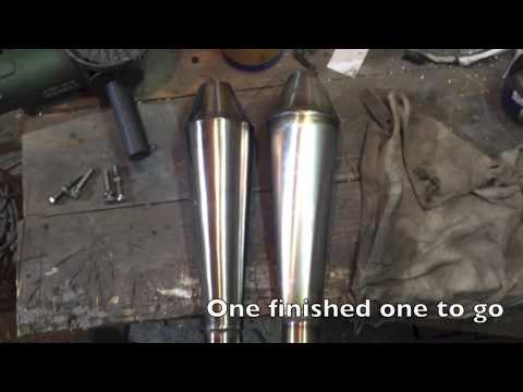 Making An Exhaust Silencer/Muffler