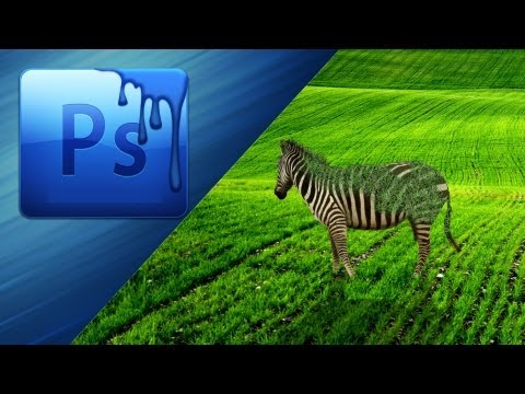 Photoshop tutorial #2-Animal grass