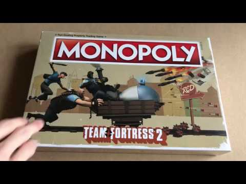 Team Fortress 2 Monopoly Unboxing and first look