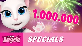 Talking Angela - 1 Million Subscribers! (Thank You!)