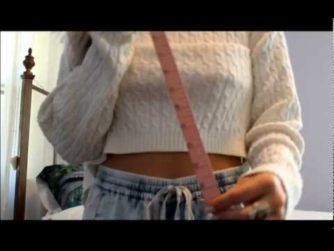 DIY: Crop Sweater