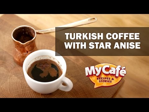 How To Make Coffee with Star Anise. Recipe from My Cafe and JS Barista Training Center