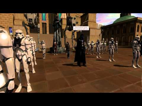 Star Wars Galaxies: Empire Day Ceremony