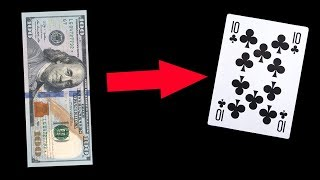 Crazy Magic Card Trick That So Easy To Do