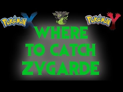 Where to catch Zygarde! (Legendary) - Pokemon X and Y Guide!