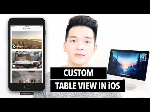 UITableView - Create Custom Table View Cell