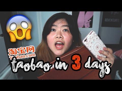 How I Got My Taobao Order in 3 Days + Haul