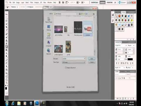 How To Make An Image Background Transparent using Photoshop (CS5)