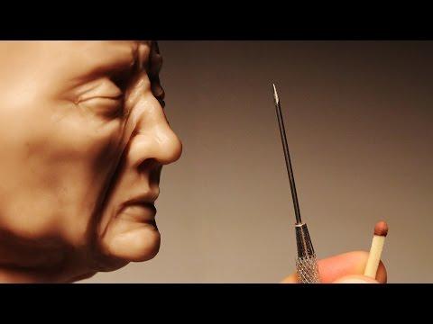 Old man's Face. Sculpting Process