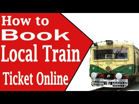 How to Book The Local Train Ticket Online in Hindi
