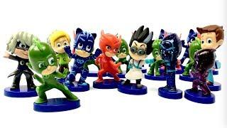 PJ Masks Full BOX Blind Bags, Catboy Romeo Gekko Night Ninja Owlette Luna Girl Cartoons for Children