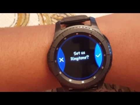 Samsung Gear S3 | How to get CUSTOM RINGTONES 🎵🎵🎵🎵