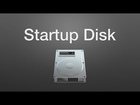 How to Choose a Default Startup Disk on a Mac