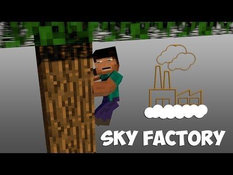 Minecraft Sky Factory | Episode 2 - Silkworms?