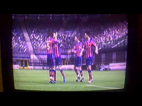 Fifa 10- Barcelona vs Inter Milan