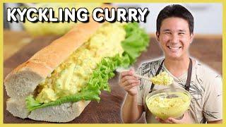 Klassisk Kyckling Curry Baguette!