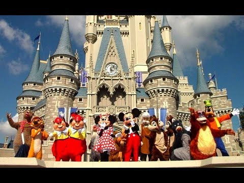 Disneyland Park Paris -- Mickey Mouse | Диснейленд Парк Париж - Микки Маус