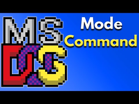 DOS Commands With Examples -  Mode