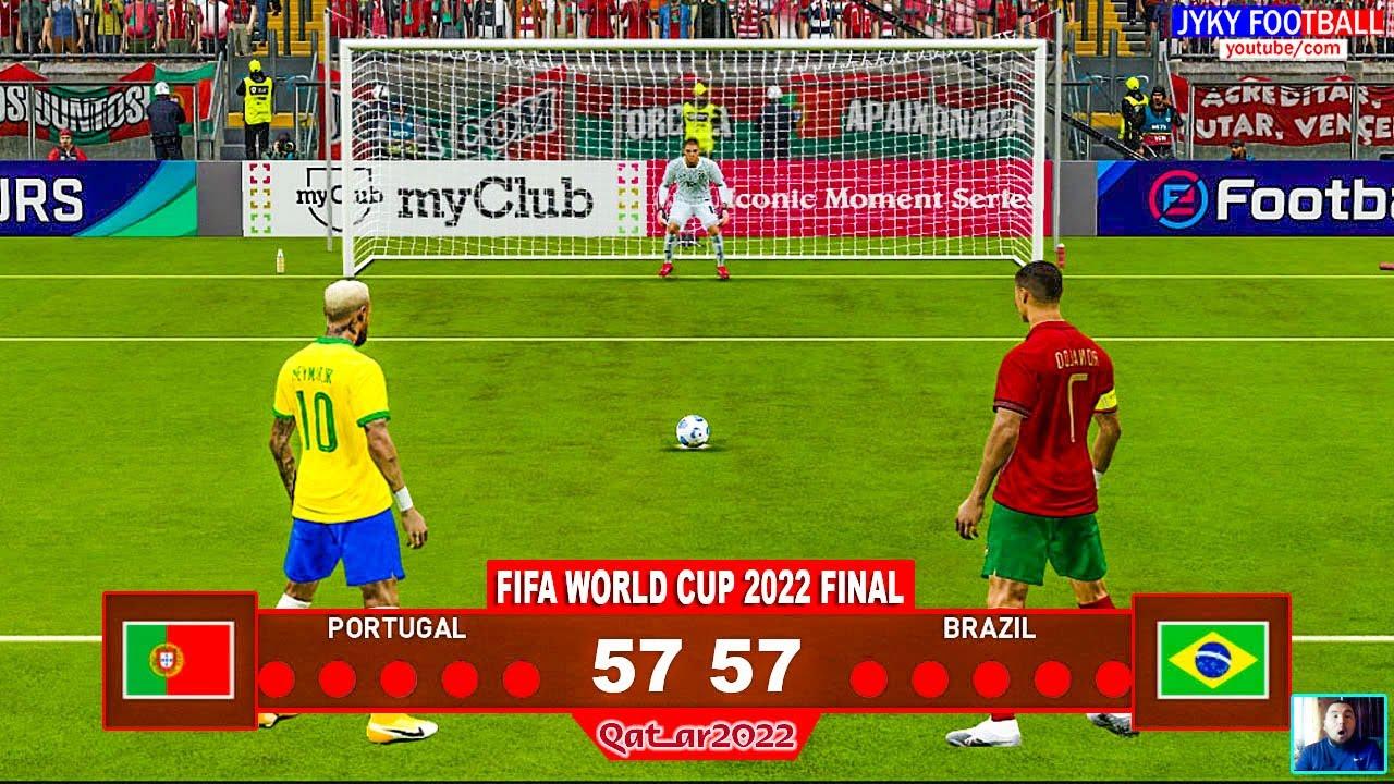 PES 2021 - Portugal vs Brazil Final - Penalty Shootout HD