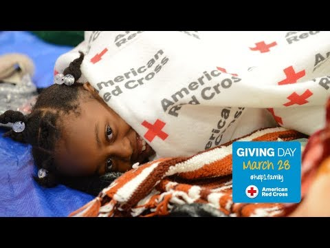 Help Families in Need for Red Cross Giving Day