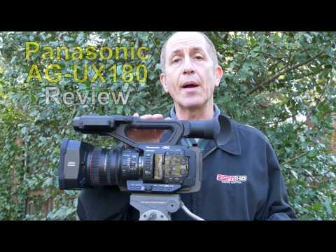 Panasonic AG-UX180 4K Camcorder Review (in 4K)