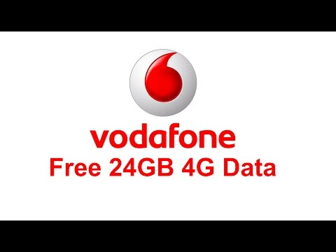 Vodafone 24GB Free 4G Data | Activate from myvodafone App