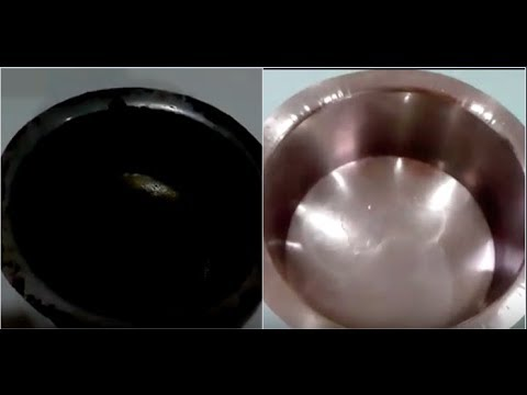 How to clean Burnt stainless steel vessel
